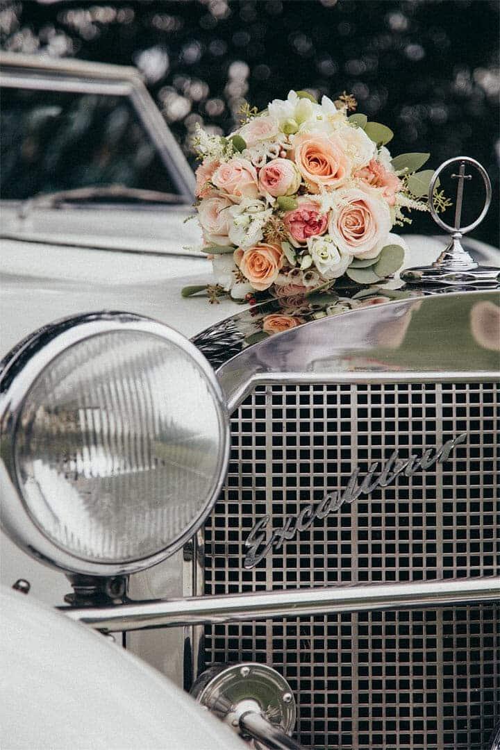 Brautfahrzeug, Hochzeitsfotograf, Hochzeitsfotogtrafie, Regensburg, Neunburg, Weiden, Schwandorf, Oberpfalz, München, Bayern